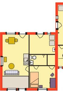Grundriss Wohnung Anbau