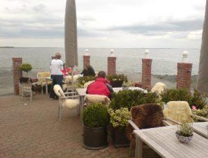 Klein Helgoland - Sitzplatz direkt am Meer