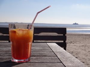 Cocktail am Meer